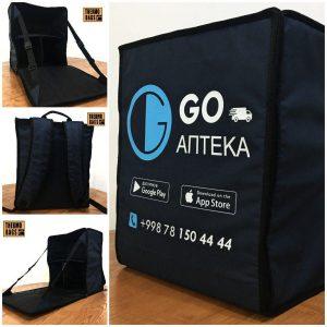 Термо рюкзак для доставки медикаментов / лекарств